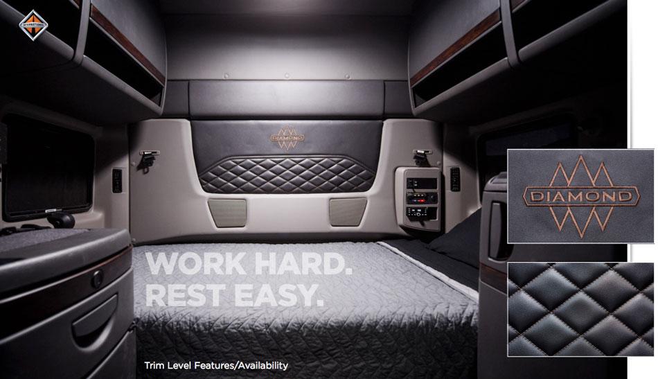 Sleeper Trucks - Interior shot of sleeper